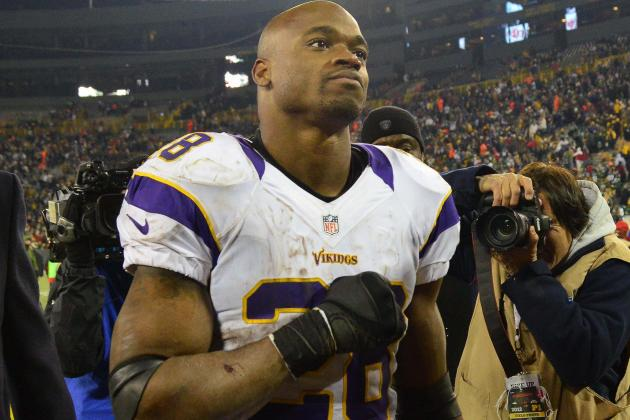 Adrian Peterson Is Serious About This 2,500-Yard Thing