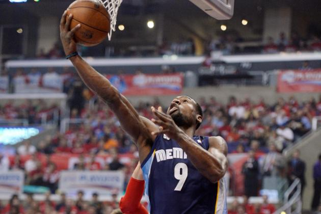 Tony Allen's Layup Was Pretty Tired, So It Took a Nap on the Rim (Video)