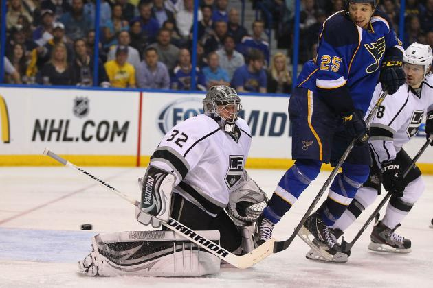 Outhustled Kings Fall to St. Louis, 2-1, in Overtime of Game 1