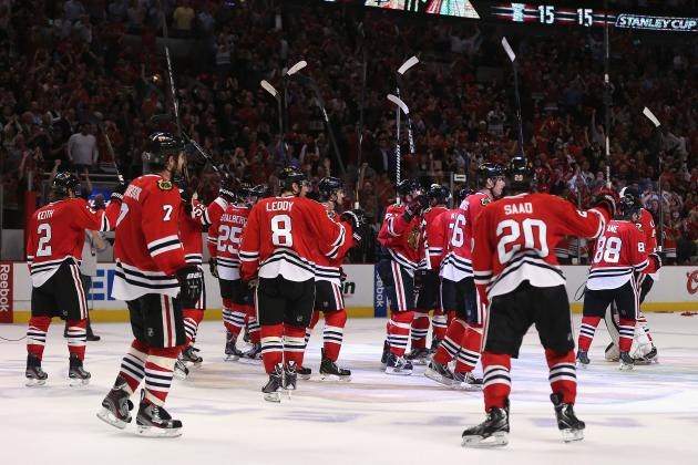 Blackhawks Have Had Tremendous Amount of Sex This Season: Report