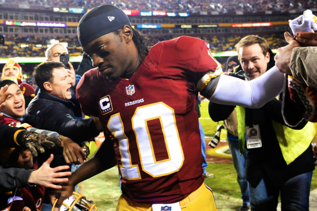 RGIII Sees 'The Mistake' in Staying in the Seahawks Game