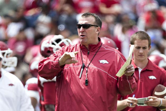 Arkansas Coach Bret Bielema Confirms Talks of Texas Tech Series