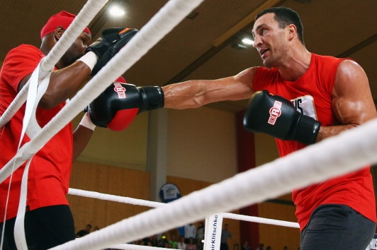 Photos: Klitschko-Pianeta Workout Gallery