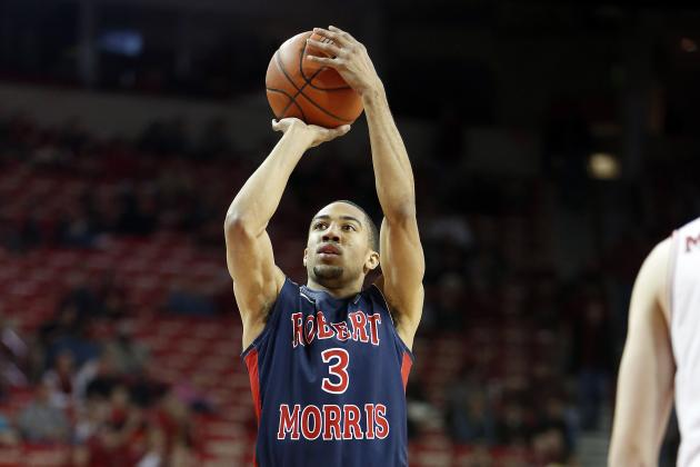 Report: Ex-Robert Morris Guard Picks Wake