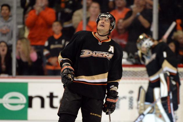 Anaheim Ducks' Teemu Selanne Still Has Touch