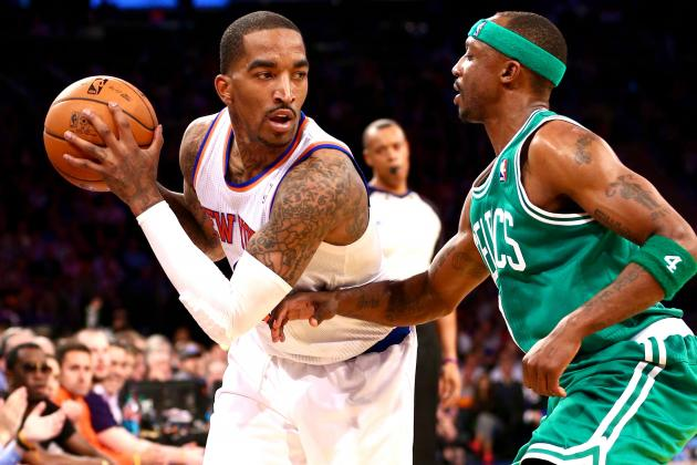 J.R. Smith Pretends He Doesn't Know Who Jason Terry Is