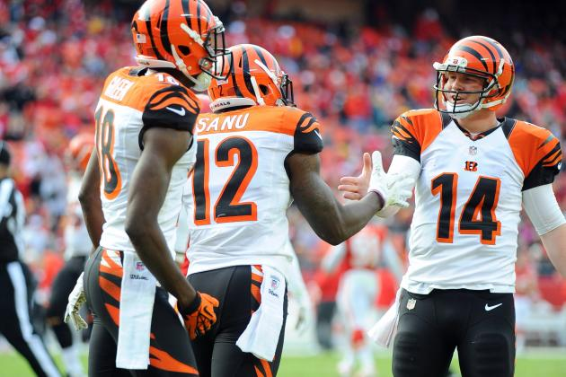 Dalton, Sanu Ready for Offense to Take the Next Step