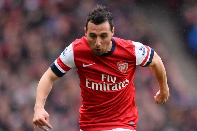 Arsenal Star Santi Cazorla Wants to Mount Title Challenge