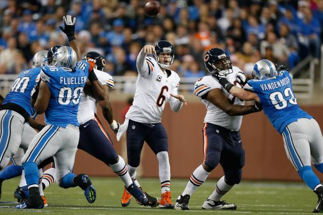 Cutler Pleased with Bears' OL Additions