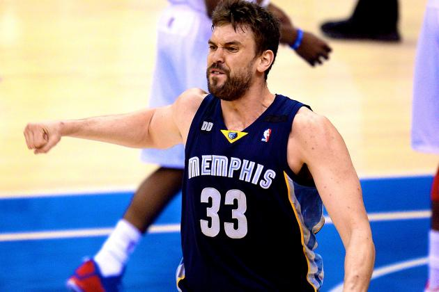Can Marc Gasol and Zach Randolph Tandem Sneak Memphis Grizzlies into NBA Finals?
