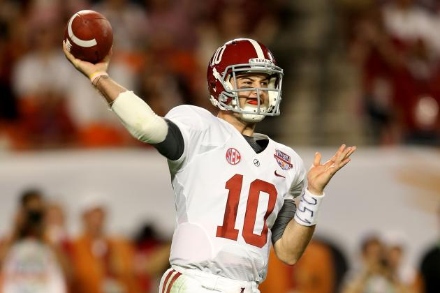 Alabama QB AJ McCarron Will Drive Pace Car Before NASCAR Race at Talladega