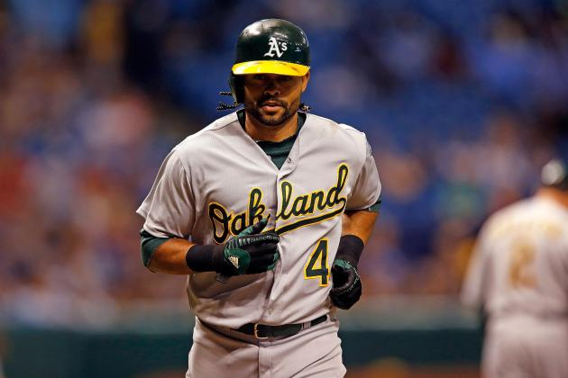 A's Lose Coco Crisp and Brett Anderson to DL After 19-Inning Game