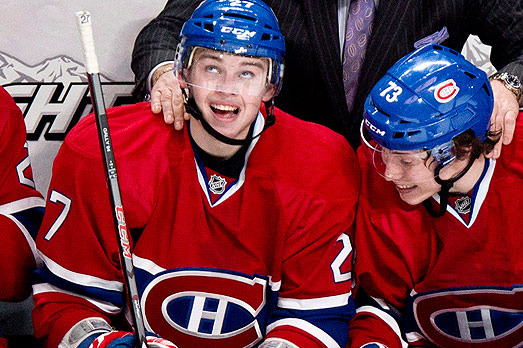 Electric Rookie Brendan Gallagher Pumped for First Playoff Appearance