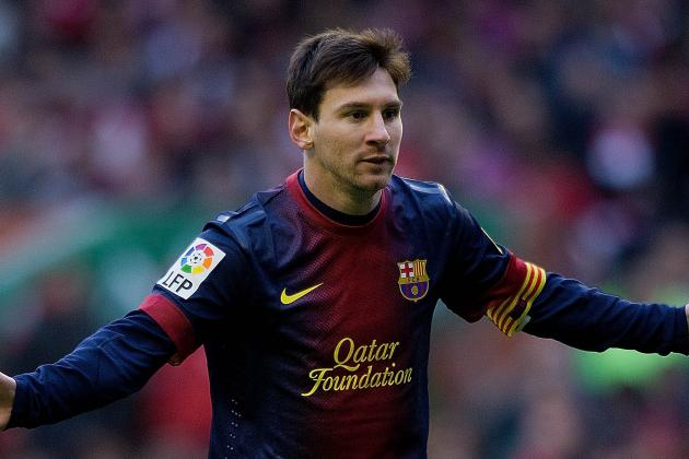 Messi on Bench for Bayern Clash