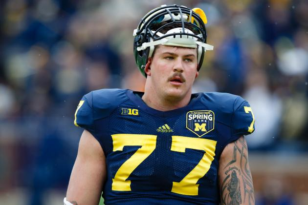 U-M's Taylor Lewan Would Have Gone Mid-First Round, Kiper Says