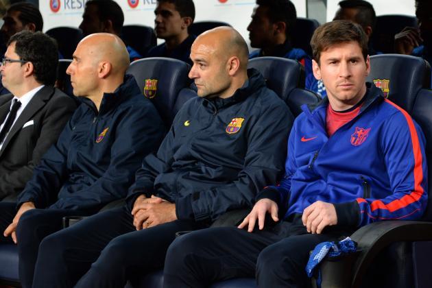 Line-Ups: Barcelona: Bayern