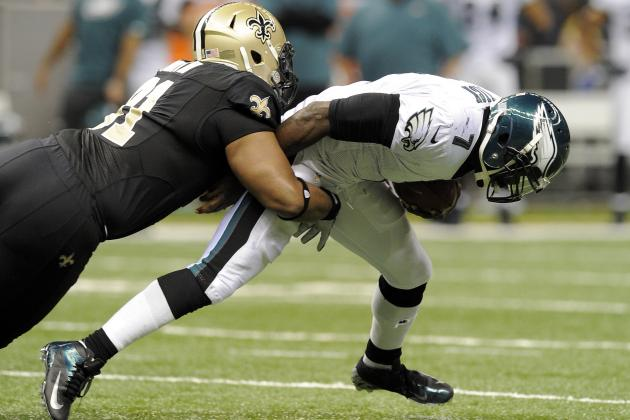 Despite What Chip Kelly Says, Improved Line Might Not Save Michael Vick in 2013