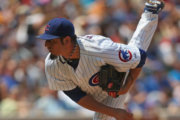 Garza Throws 2.2 IP in 1st Rehab Outing