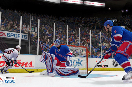 EA's NHL 13 Predicts Stanley Cup Glory for New York Rangers