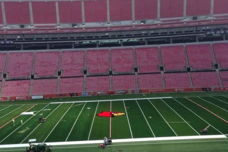 Louisville's New Football Field Almost Complete