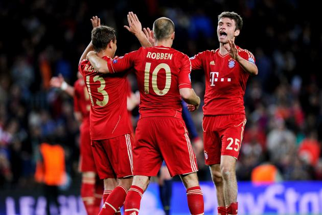 Barcelona 0-3 Bayern Munich: Martinez Nullifies Iniesta, Bayern Play on Counter