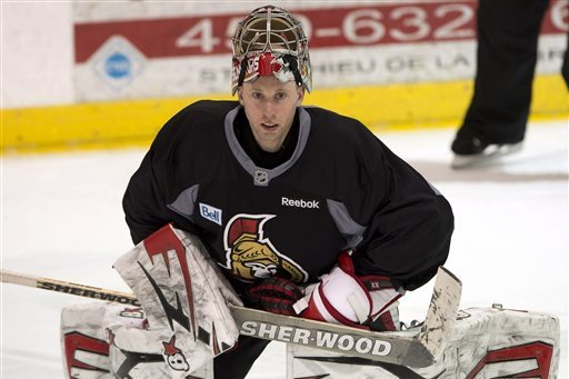 Sens Coach MacLean: Anderson a Candidate for Hart, Vezina