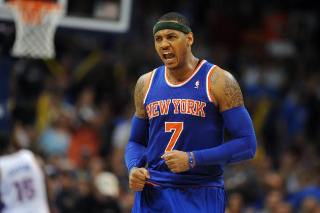 What's Keeping Carmelo Anthony out of the MVP Discussion?