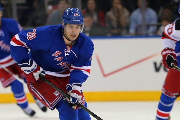 Rangers' Injuries Mean More Playing Time for Kreider