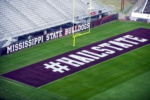 NCAA Bans Twitter Hashtags on Football Fields