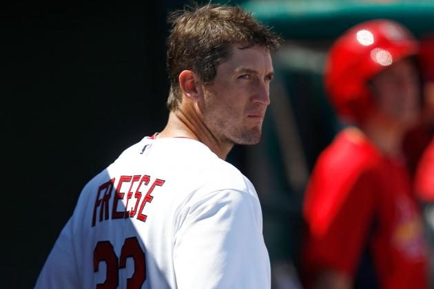 Cards Notebook: Freese 'not Heading in a Good Direction'