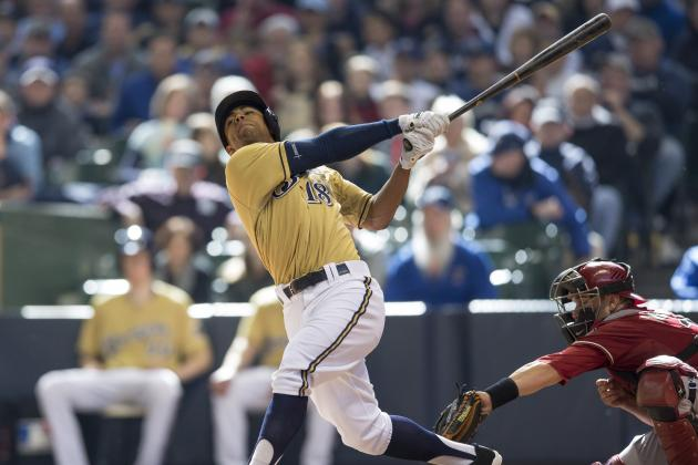 Khris Davis Optioned to Nashville