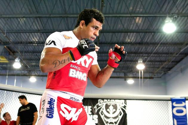 Vitor Belfort Gunning for UFC Title: 'I Think I Deserve a Title Shot'