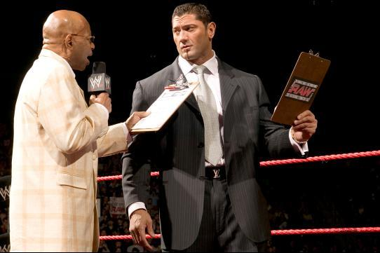 Batista Rules out WWE Return