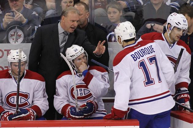 Therrien Insists No Pressure on Canadiens
