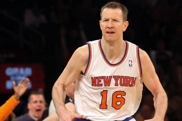 Steve Novak out for Rest of Game vs. Celtics