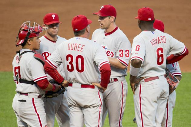 Cliff Lee off as Phillies Lose Again