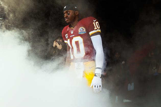 Checking in on Robert Griffin III as He Continues to Recover from Knee Surgery