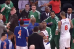 Knicks, Celtics Scuffle After Game