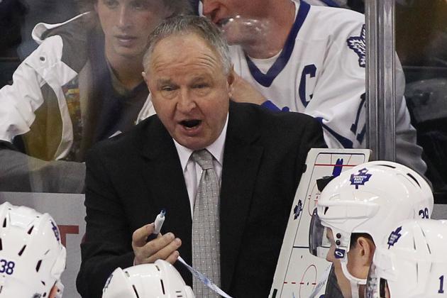 Leafs Coach: 'We Self-Destructed'