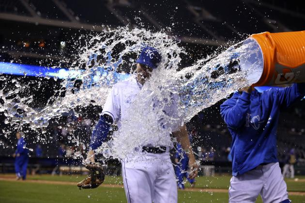 Royals Rally and Then Hold on for 9-8 Victory over Tampa Bay
