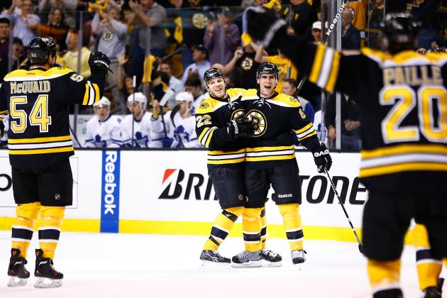 Bruins Flip Switch for Game 1 Against Maple Leafs