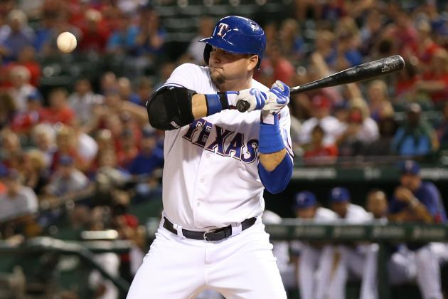 A.J. Pierzynski Takes Issue with Ninth-Inning Plunking
