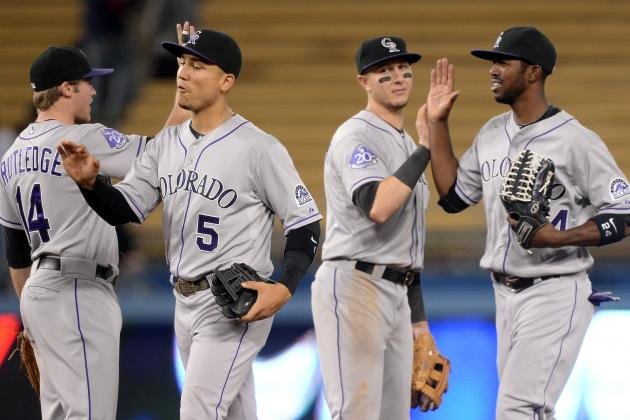 Rockies' Bats Fuel Win vs. Dodgers, Beckett