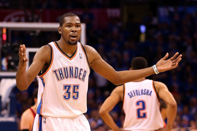 Kevin Durant's Revenge Mindset Hurting Oklahoma City Thunder