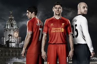Taken as Red: Liverpool Reveal New Home Kits for 2013-14 Season