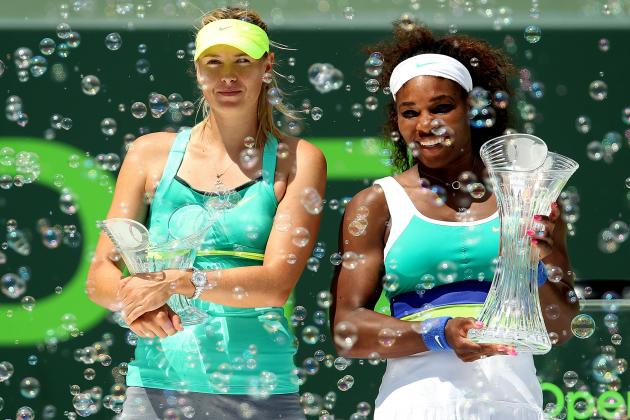 Will Maria Sharapova or Serena Williams Be Ranked No. 1 at the End of 2013?