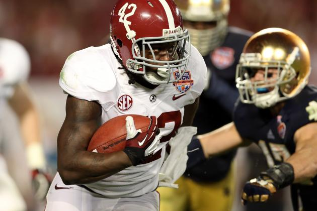 Drafting Running Back High Beats Trusting to Luck