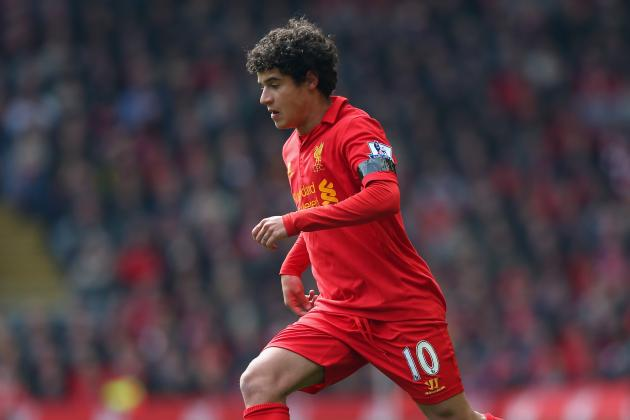 Liverpool: Where Should Philippe Coutinho Be Played for Anfield Success?
