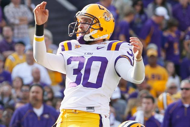 Former LSU Kicker Josh Jasper Gets Tryout with Saints