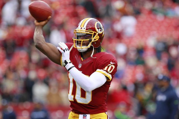 Redskins' QB Robert Griffin III Tackles 'Political Correctness' on Twitter